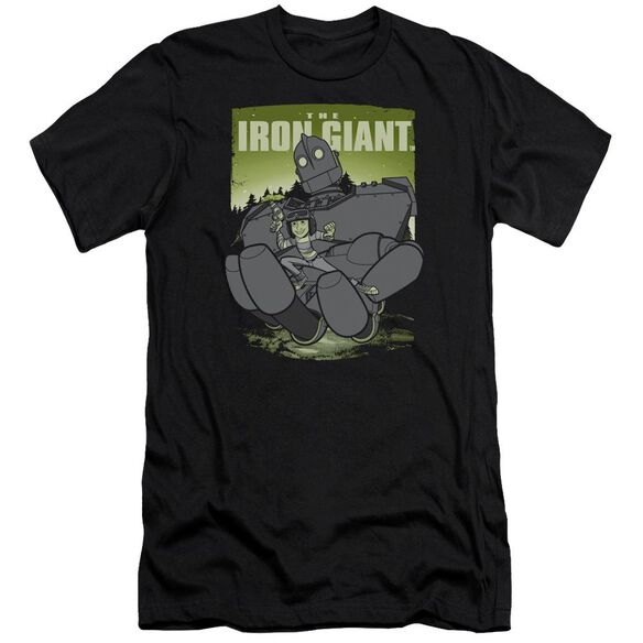 Iron Giant Helping Hand Premuim Canvas Adult Slim Fit