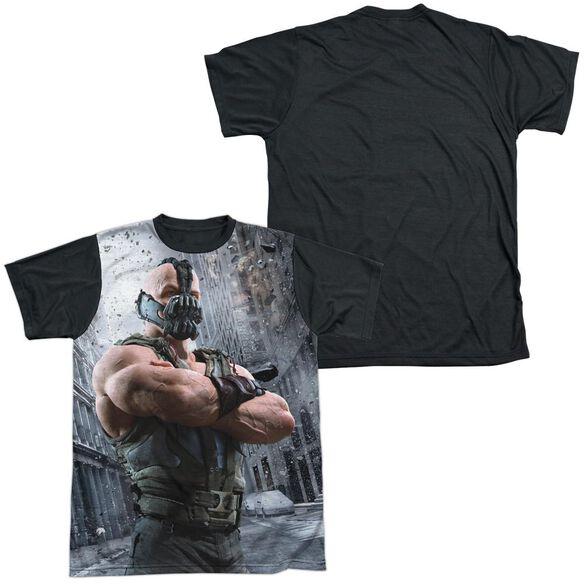 Dark Knight Rises Occupy Gotham Short Sleeve Adult Front Black Back T-Shirt