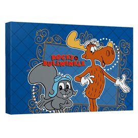 Rocky & Bullwinkle Framed Friends Quickpro Artwrap Back Board