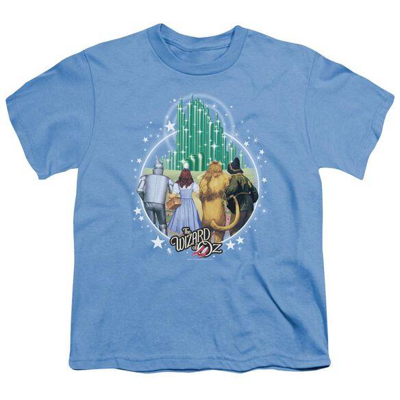 Wizard Of Oz Emerald City Short Sleeve Youth Carolina T-Shirt