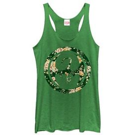 Iron Fist Floral Icon Tank Top Juniors T-Shirt