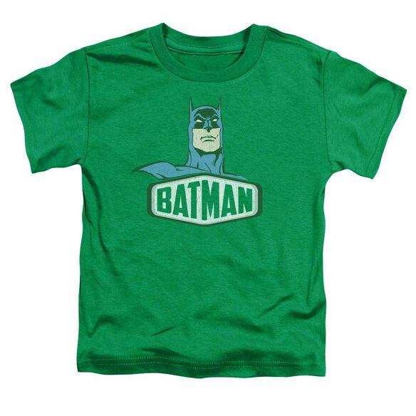 Dco Batman Sign Short Sleeve Toddler Tee Kelly Green Lg T-Shirt