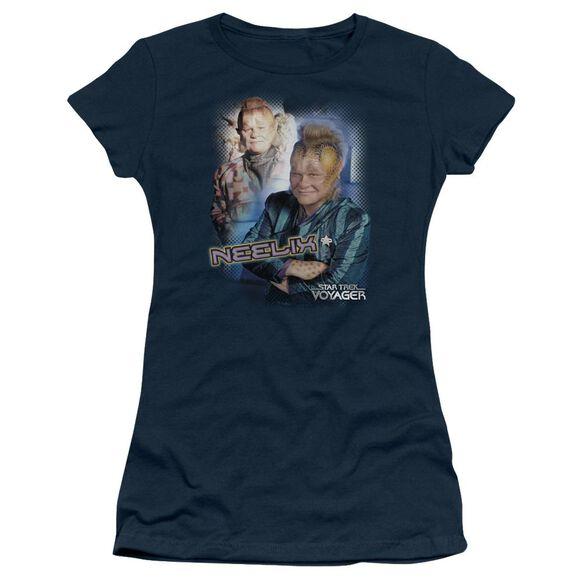 Star Trek Neelix Short Sleeve Junior Sheer T-Shirt