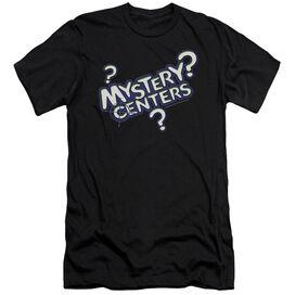 DUBBLE BUBBLE MYSTERY CENTERS - S/S ADULT 30/1 - BLACK T-Shirt