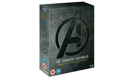 The Avengers Assembled - Complete 4-Movie Collection [Blu-ray]