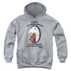 Parks And Rec Lil Sebastian Youth Pull Over Hoodie