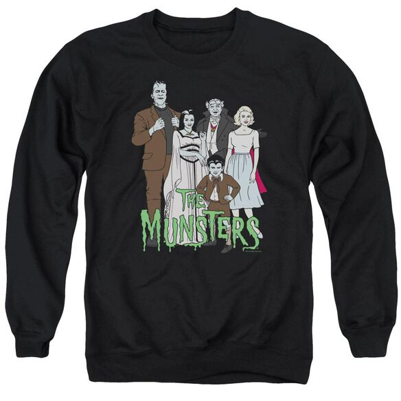 The Munsters The Family Adult Crewneck Sweatshirt