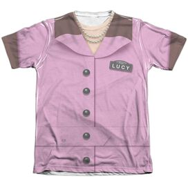 I Love Lucy Chocolate Factory Costume Adult Poly Cotton Short Sleeve Tee T-Shirt