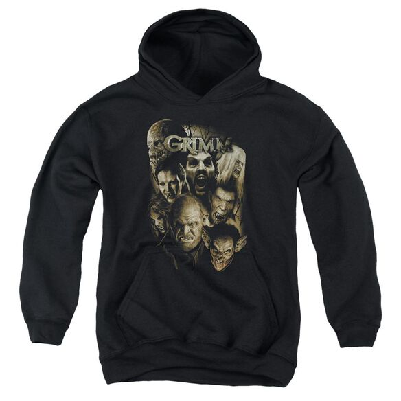 Grimm Wesen Youth Pull Over Hoodie