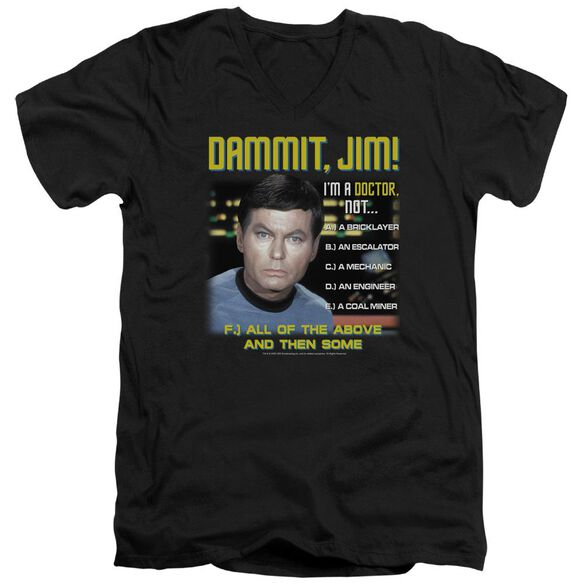 Star Trek All Of The Above Short Sleeve Adult V Neck T-Shirt