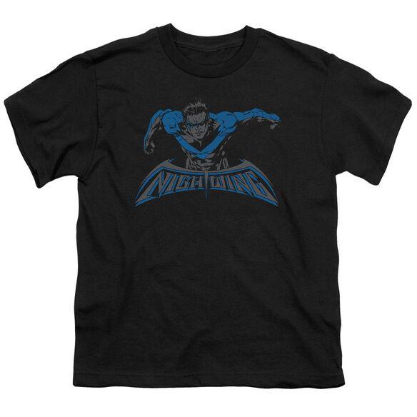 Batman Wing Of The Night Short Sleeve Youth T-Shirt