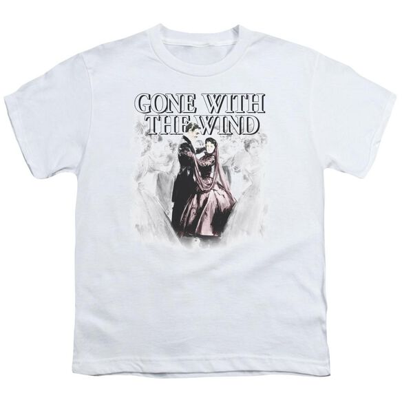 Gone With The Wind Dancers Short Sleeve Youth T-Shirt