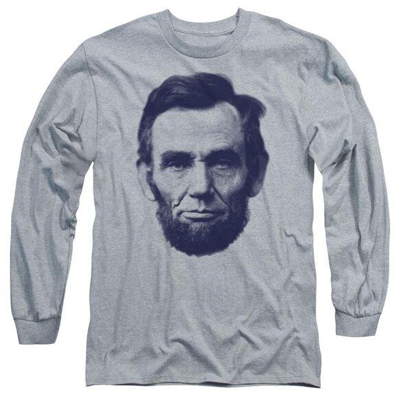 Abe Long Sleeve Adult Athletic T-Shirt