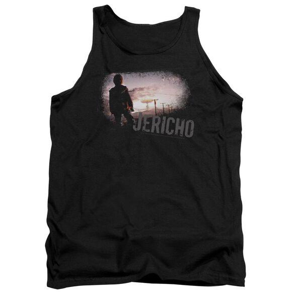 Jericho Mushroom Cloud - Adult Tank - Black