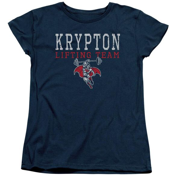 Dco Krpton Lifting Short Sleeve Womens Tee T-Shirt