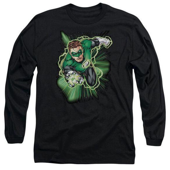 Jla Green Lantern Energy Long Sleeve Adult T-Shirt
