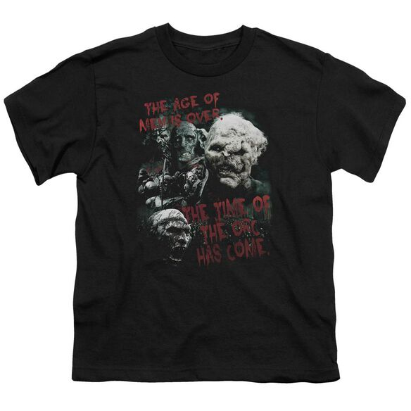 Lor Time Of The Orc Short Sleeve Youth T-Shirt