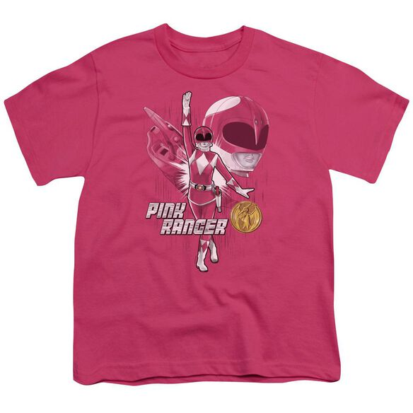 Power Rangers Ranger Short Sleeve Youth Hot T-Shirt