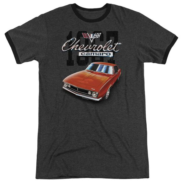 Chevrolet Classic Camaro Adult Ringer Charcoal