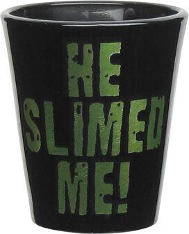 Ghostbusters Slimer He Slimed Me Shot Glass
