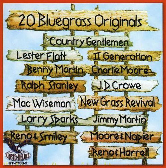 20 Bluegrass Originals / Var
