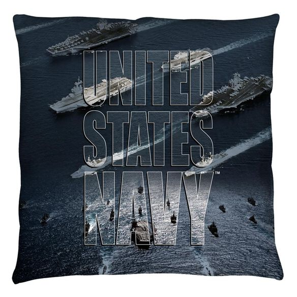 Navy Fleet Throw