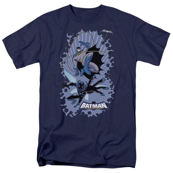 Batman Bb Bat Beetle Burst Short Sleeve Adult T-Shirt