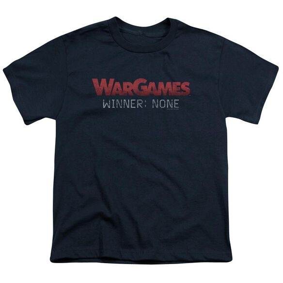 Wargames No Winners Short Sleeve Youth T-Shirt