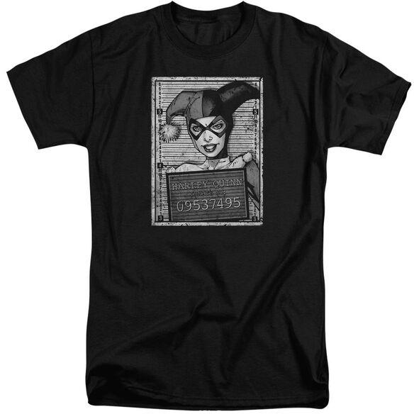Batman Harley Inmate Short Sleeve Adult Tall T-Shirt