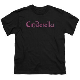 Cinderella Logo Rough Short Sleeve Youth T-Shirt