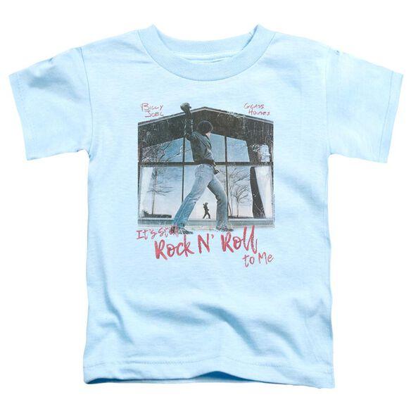 Billy Joel Glass Houses Short Sleeve Toddler Tee Light Blue T-Shirt