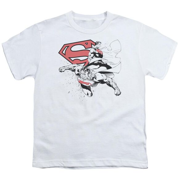 Superman Double The Power Short Sleeve Youth T-Shirt