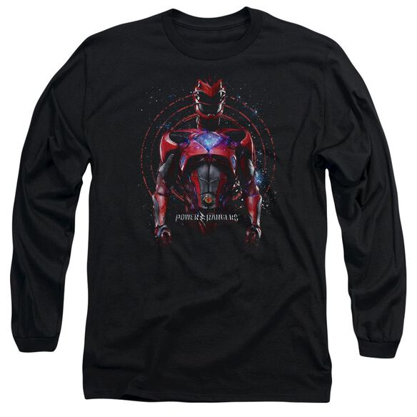 Power Rangers Red Ranger Long Sleeve Adult T-Shirt