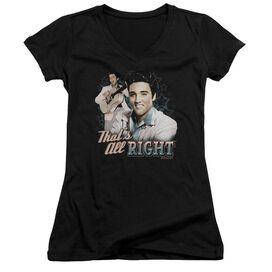 Elvis Presley Thats All Right - Junior V-neck