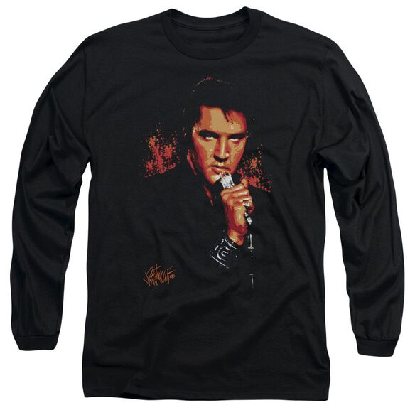 Elvis Presley Trouble Long Sleeve Adult T-Shirt