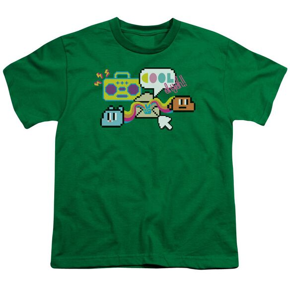 Amazing World Of Gumball Cool Oh Yeah Short Sleeve Youth Kelly T-Shirt