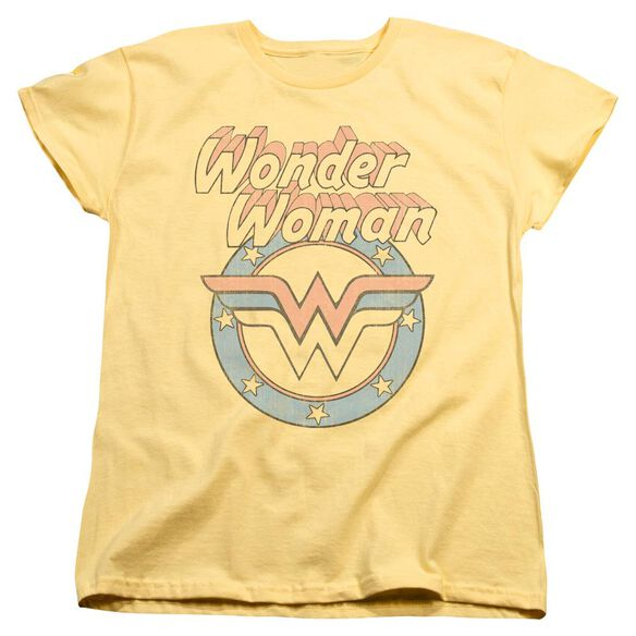 Dco Faded Wonder Short Sleeve Womens Tee T-Shirt