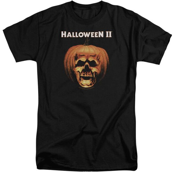 Halloween Ii Pumpkin Shell Short Sleeve Adult Tall T-Shirt