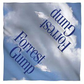 Forrest Gump Feather Bandana White