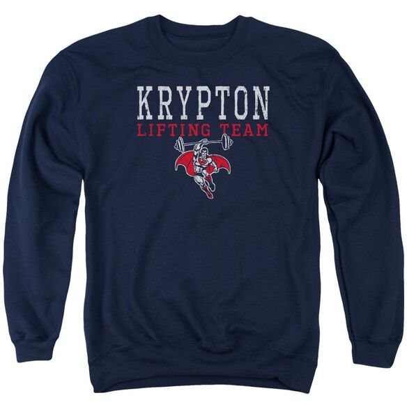 Dco Krpton Lifting Adult Crewneck Sweatshirt