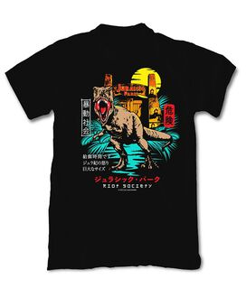 Riot Society - Jurassic Park Moon Kanji T-Shirt