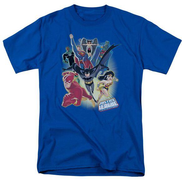 Jla Unlimited Short Sleeve Adult Royal T-Shirt