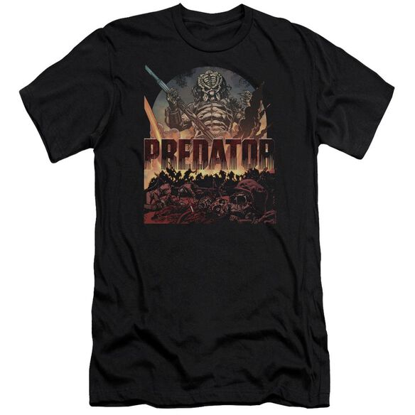 Predator Battle Hbo Short Sleeve Adult T-Shirt