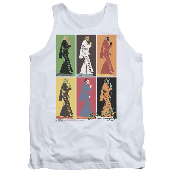 Elvis Retro Boxes Adult Tank