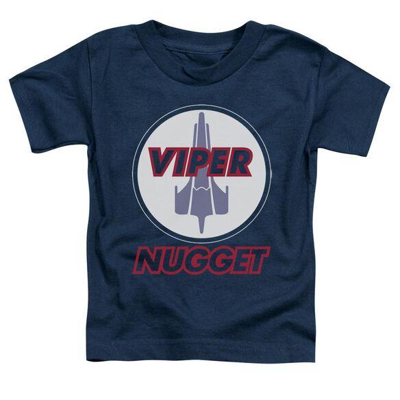 Bsg Nugget Short Sleeve Toddler Tee Navy Md T-Shirt