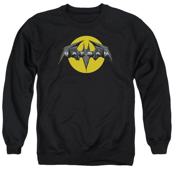 Batman Unlimited Tech Logo Adult Crewneck Sweatshirt