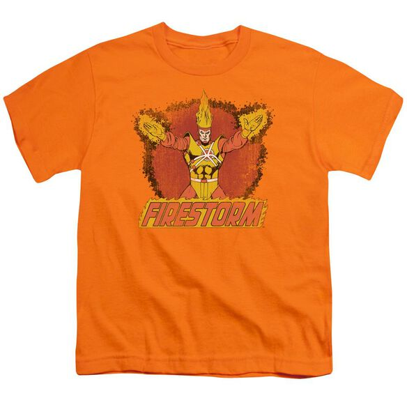 Dc Ring Of Firestorm Short Sleeve Youth T-Shirt