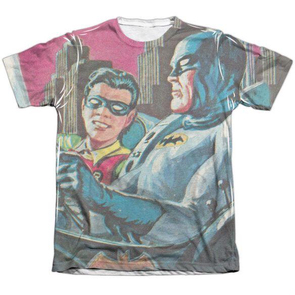 Batman Classic Tv Bat Signal Adult Poly Cotton Short Sleeve Tee T-Shirt