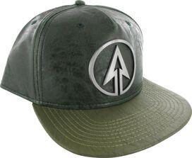Green Arrow TV Metal Logo Hat