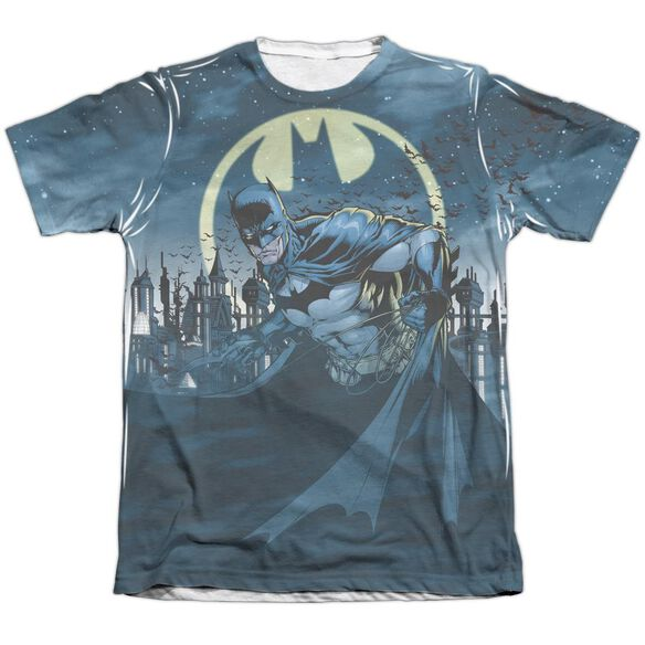 Batman Heed The Call Adult 65 35 Poly Cotton Short Sleeve Tee T-Shirt